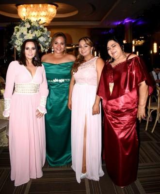 Nuria Perdomo, Ambar Nazar, Janelle Aguilera y Olfania Nazar