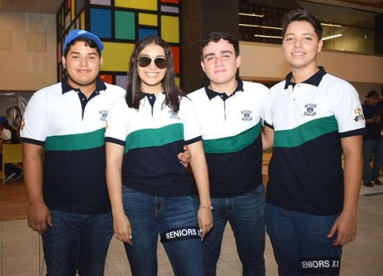 Plutarco Herrera, Karen Urbina, José Franco y Álvaro Ávila.