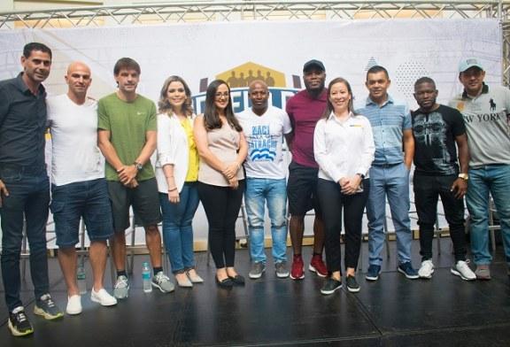 Multiplaza San Pedro Sula fue sede para que las Leyendas del Mundo compartieran con cientos de aficionados