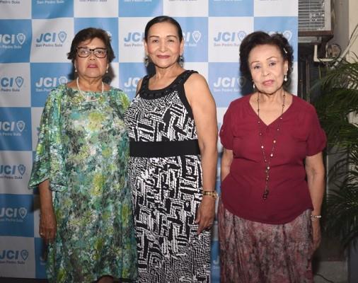 Sandra Galindo, Ana Gloria y Maria del Carmen Funez