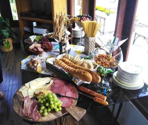 Una entrada gastronómica deliciosa estuvo a disposición de todas