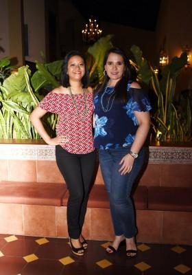 Verónica García y Erika Sabillón