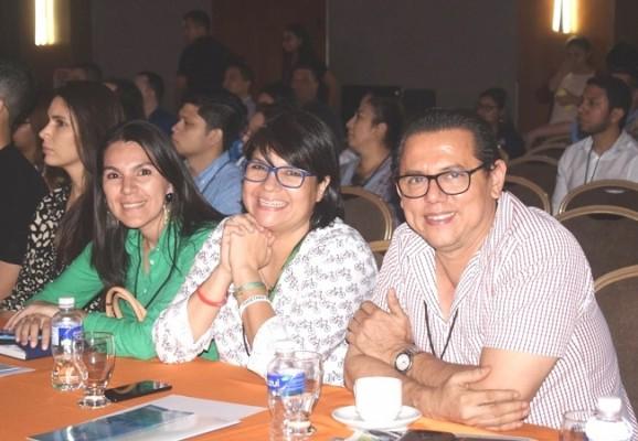 Yolanda Portillo, Vanessa Zornitta y Samuel Romero en el Think Digital Today