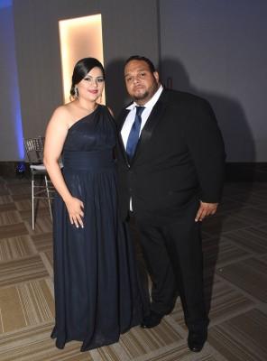 Zayda Martínez y René Funez