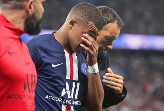 Confirman que Mbappé estará un mes de baja y Cavani «tres semanas» por lesión