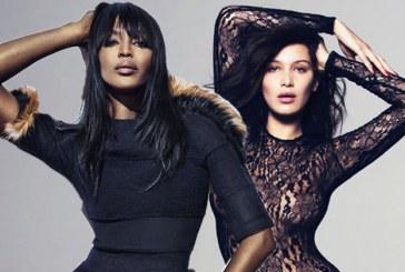 Bella Hadid y Naomi Campbell se desnudan para Calvin Klein (+fotos)