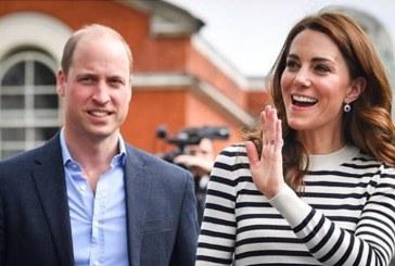 Kate Middleton y el príncipe William compiten entre sí en una carrera de veleros