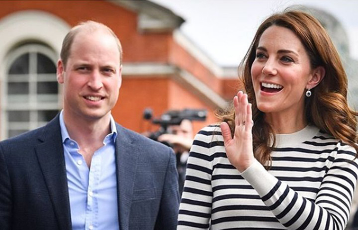 Kate Middleton y el príncipe William compiten entre sí en una carrera de veleros