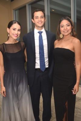 Alicia Rodríguez, Rodrigo Kattán y Mariana León