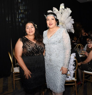 Ana Martínez y Mirna Hernández