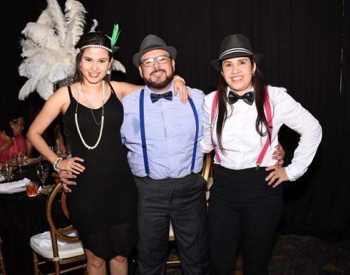 Belinda Funes, Erick Murillo y Lorena Funes