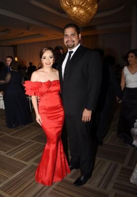 Benedetta Orellana y Dennis Duarte