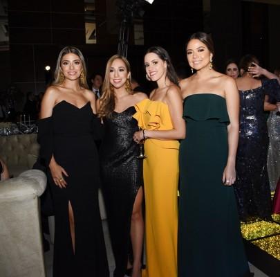 Brenda Rodríguez, Johana Ráquel, Eugenia Delgado y Marian León
