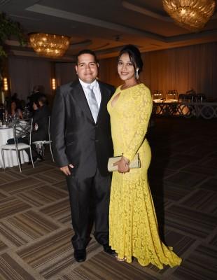 Carlos Ávila y Daniela Sabillón