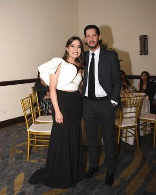 Cindy Aguilera y Fernando Folgar