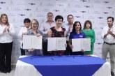 Autoridades de Ciudad Mujer firman importantes convenios de cooperación con empresas sampedranas