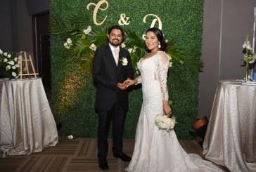 La boda de Claudia y Dennis…el relato de un amor de principio a fin…