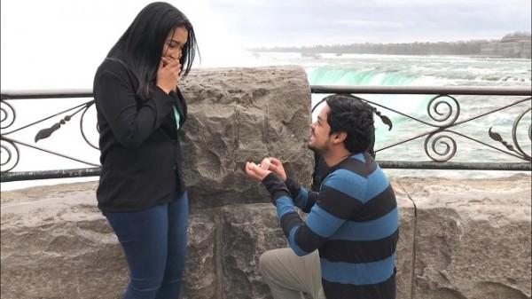 Dennis y Claudia guardan recuerdos imborrables de aquella propuesta de matrimonio que los llevó al altar ¡Ella dijo Si!