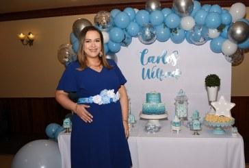 Ternura y delicadez en el baby shower de Diana Arely