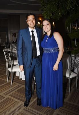 Dyego Reyes y Carolina Tosta de Reyes