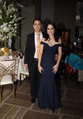 Elizabeth Martínez y Fernando Montoya