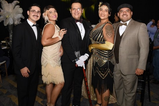 ¡El Gran Gatsby regresó! Esta vez en el cumpleaños de Eugenio Laínez