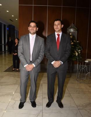 Gabriel Monterroso y Daniel Pitsikalis