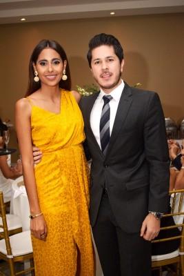 Grace Bográn y Luis Fernando Montañola.