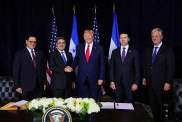 EEUU y Honduras firman Acuerdos Bilaterales de Cooperación en Migración y Seguridad