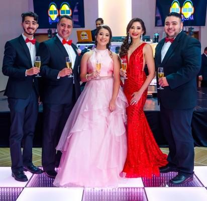 La familia Solís – Paz celebró en grande el cumpleaños de la preciosa Paola Sofía.