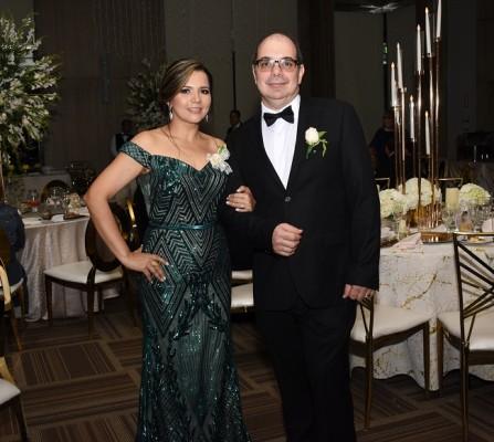 Los padres del novio, Bechir Bendeck y Marisol Singh de Bendeck