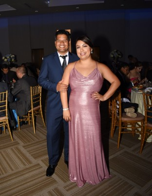 Los padrinos de boda, Anthony Aguilera y Aida de Aguilera
