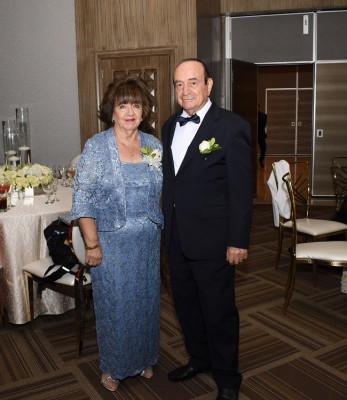 Los padrinos de boda, Chefica Bendeck y Antonio Bendeck