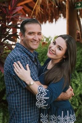 Marcel y Sandra, eligieron hacer turismo interno en Copan Ruinas durante su viaje de luna de miel.