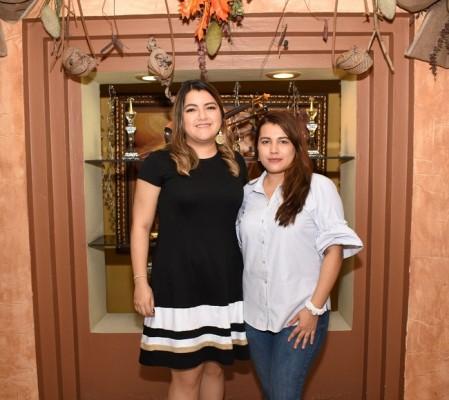 Marcela Herrera y Katherine Sabillon