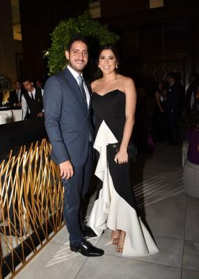 Michelle Marzan y Pablo Suazo