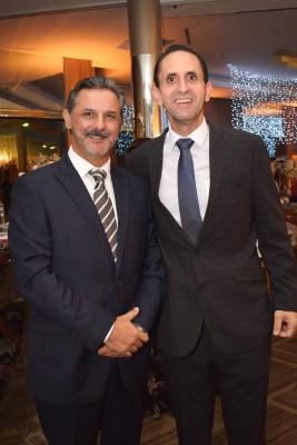 Miguel Angel Yague y Munir Ganineh