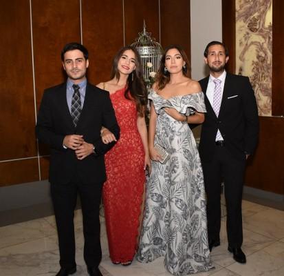 Oliver Handal, Marielos Debbe, Nicole Laitano y Carlos Valdiviezo