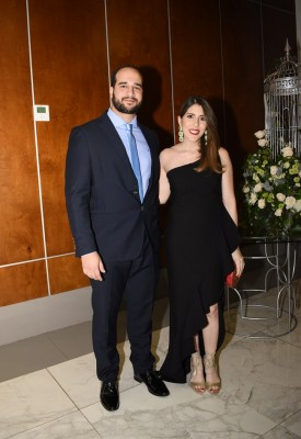 Paul Ritter y Daniela de Ritter