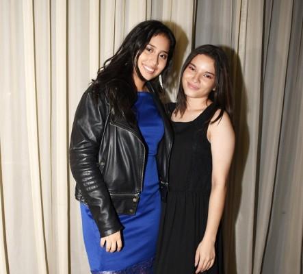 Perla Galéas y Jennifer Reyes
