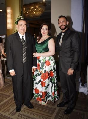Rafael Ruiz R, Verónica y Marco Peña