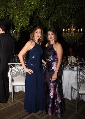 Rita Jabbour y Susy Panting