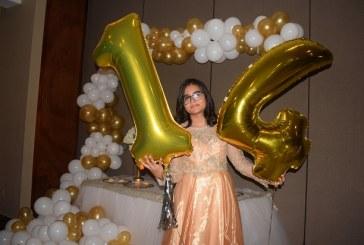 Una fiesta estilo disco celebrando a Tatiana Isabel