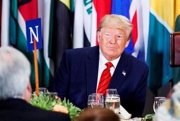 """Trump tacha de """"acoso presidencial"""" y """"caza de brujas"""" el anuncio de un juicio político en su contra"""
