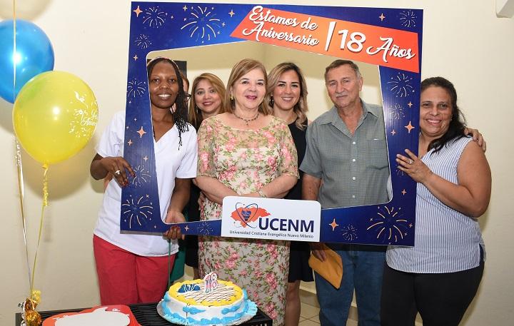 Con mucho entusiasmo festejan 18 aniversario de UCENM