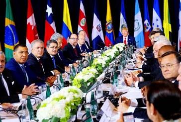 Hernández participa en encuentro auspiciado por Trump sobre crisis en Venezuela
