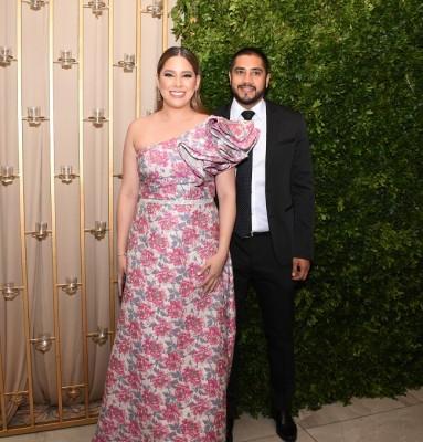 Óscar Flores y Michelle Ramírez