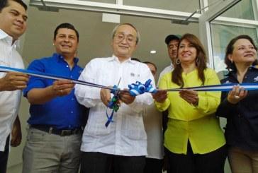 Inauguran Policlínica en Lepaera con apoyo de Japón