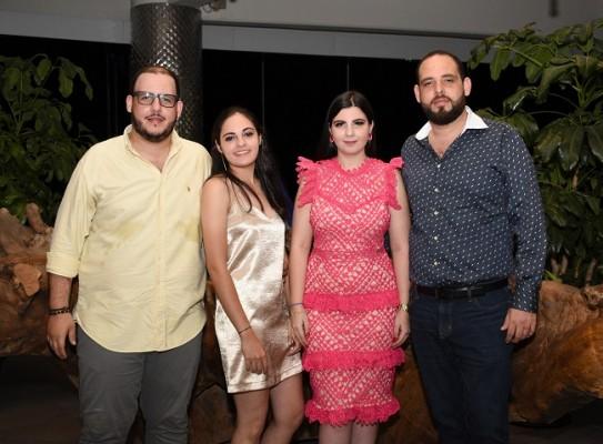Andrés Segebre, Ángela Sofía Segebre, Thiara Segebre y Gabriel Segebre