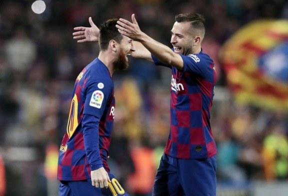 El Barcelona se impuso 5-1 sin grandes dificultades en casa al Valladolid